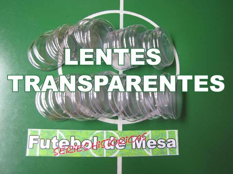 Lentes transparentes para futebol de mesa